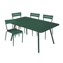 Fermob - Fermob Luxembourg tuin-set 4 stoelen