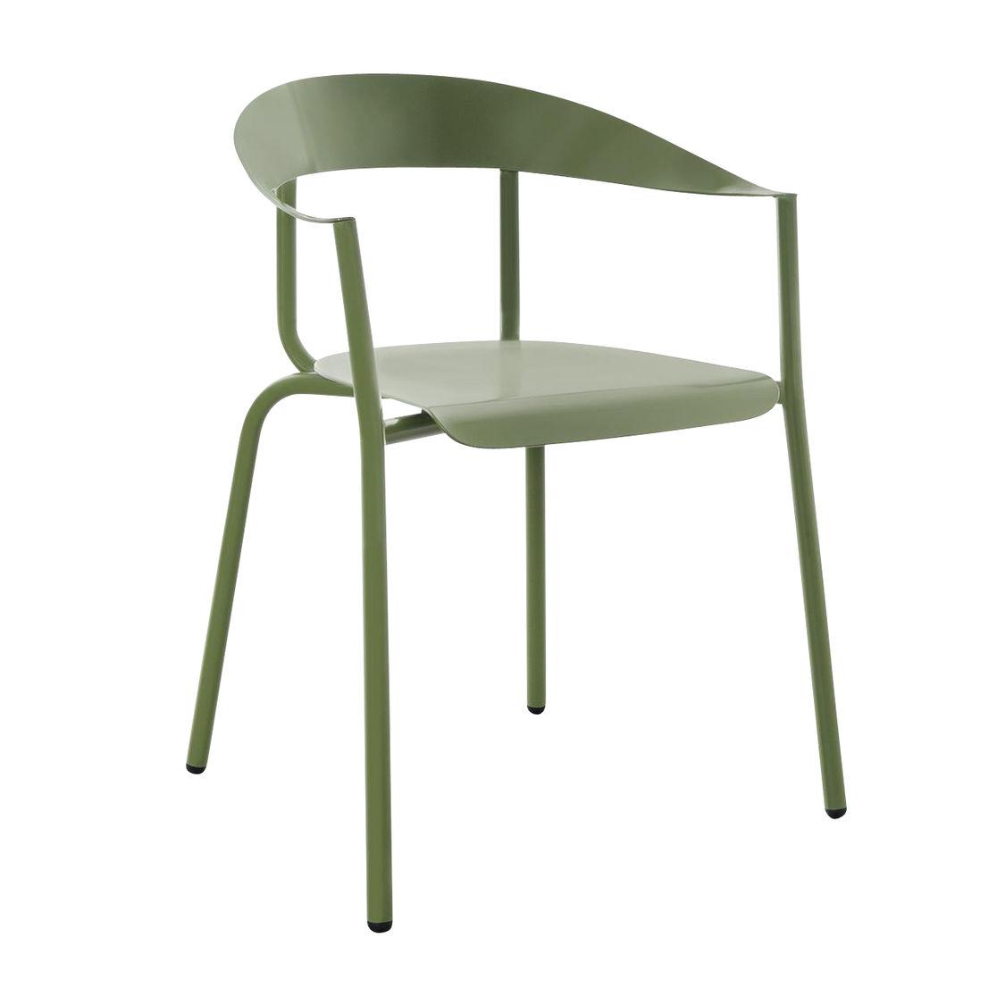 Alu mito silla con reposabrazos de jard n conmoto - Sillas con reposabrazos ...
