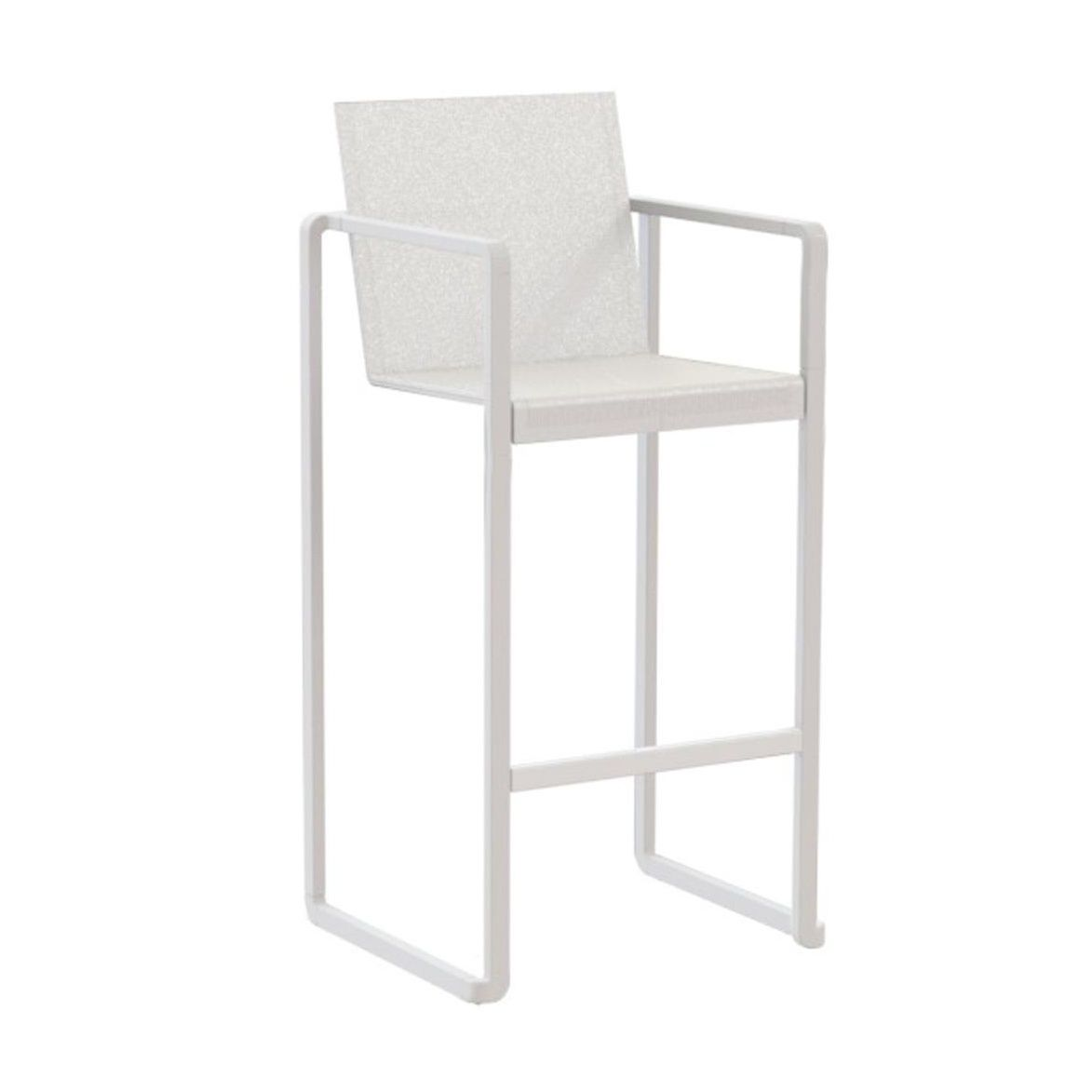 Royal Botania   Alura Bar Stool   White/Batyline