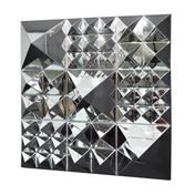 VerPan - Mirror Sculpture Pyramide / Wanddekoration