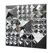 VerPan - Mirror Sculpture - Lot de pirámides