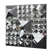 VerPan - Mirror Sculpture Pyramide / Wanddekoration