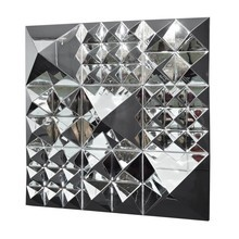 VerPan - Mirror Sculpture Pyramid / Wall Decoration