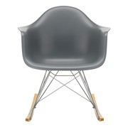 Vitra - Eames Plastic Armchair RAR Rocking Chair Chromed
