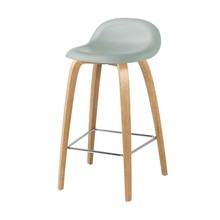 Gubi - 3D Counter Stool Barhocker mit Eichengestell