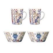 iittala - Taika Mug And Bowl Set Of 4