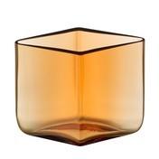 iittala - Ruutu Bouroullec Vase 115x80mm - bronze desert/rautenform