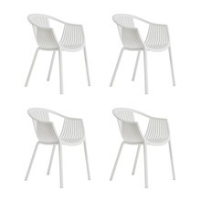 Pedrali - Tatami 306 Garden Armchair Set of 4