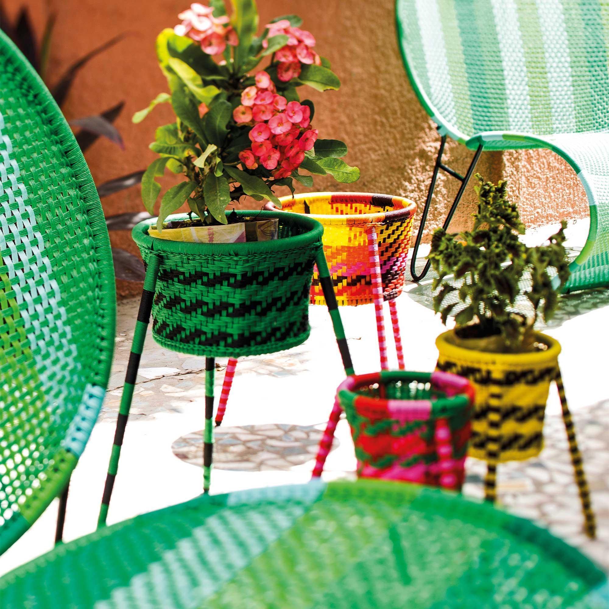 Jardin Suspendu Pflanzenkorb 4er Set