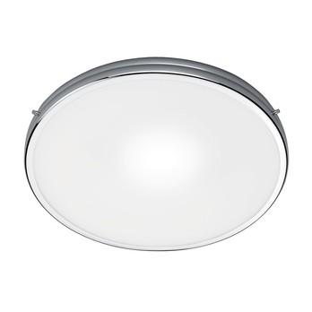 - Fix 40 Deckenleuchte - weiß/chrom/matt/H 6.5cm/Ø 40cm