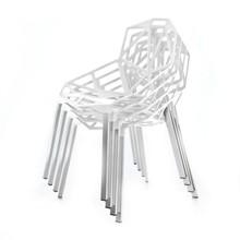 Magis - Chair One 4er Set mit Sitzauflagen