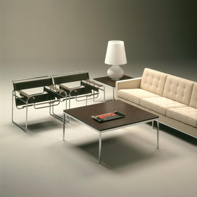 Wassily marcel breuer fauteuil knoll international for Wassily stuhl design analyse