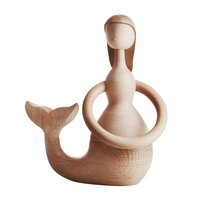 ArchitectMade - ArchitectMade Mermaid Wooden Figurine