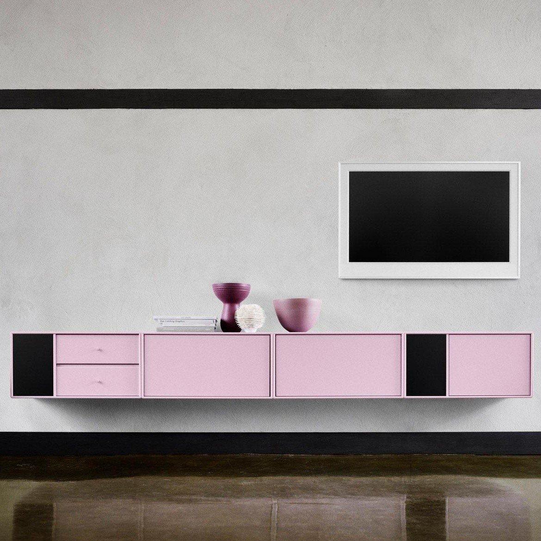 montana tv hi fi lowboard ambientedirect. Black Bedroom Furniture Sets. Home Design Ideas