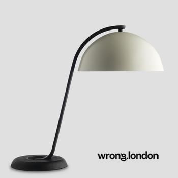 Stehlampe Schwarz mit Weiß