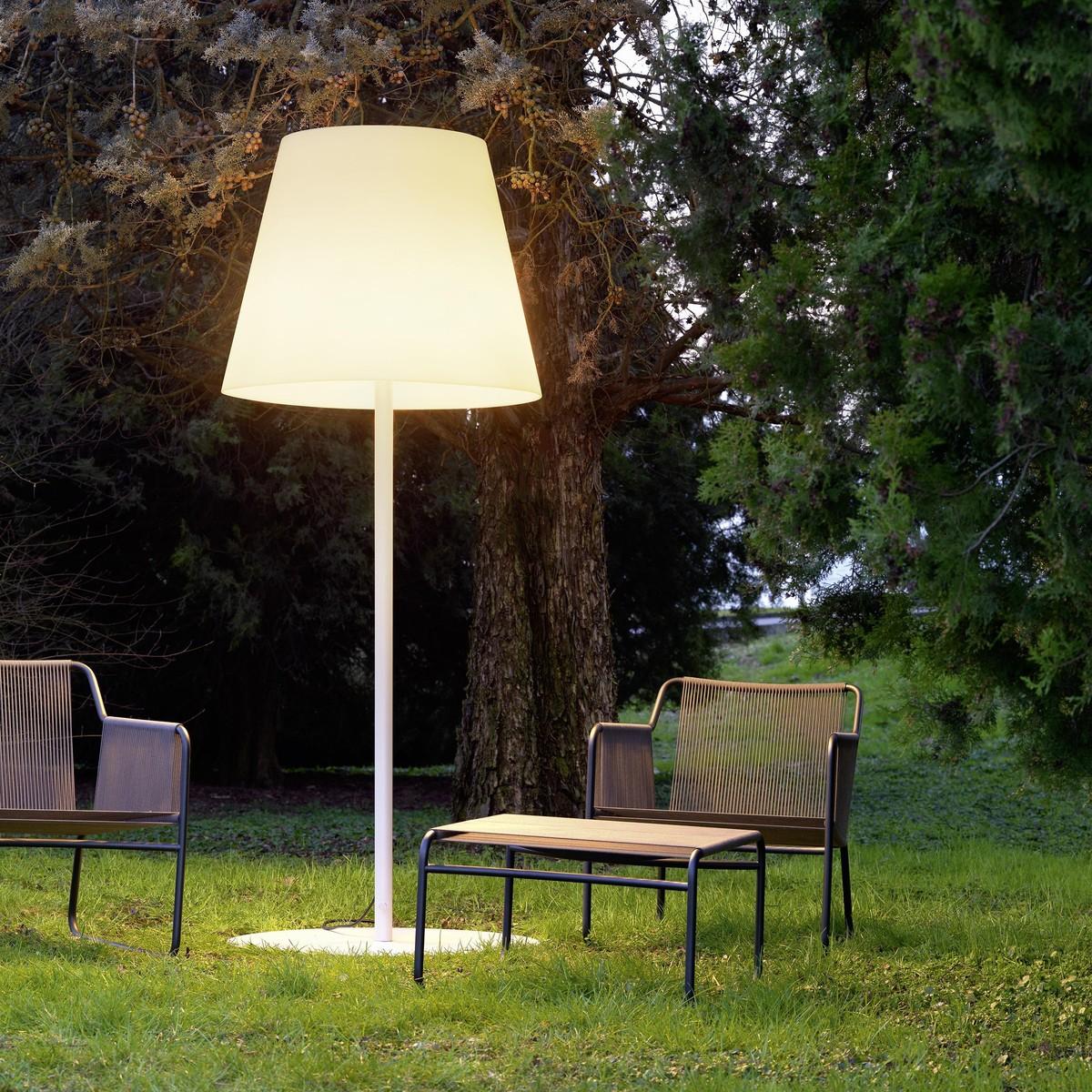 Outdoor floor lamp - Fontana Arte Amax Outdoor Floor Lamp
