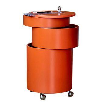 VerPan - Barboy Container - orange/H 72,5cm / Ø 38cm