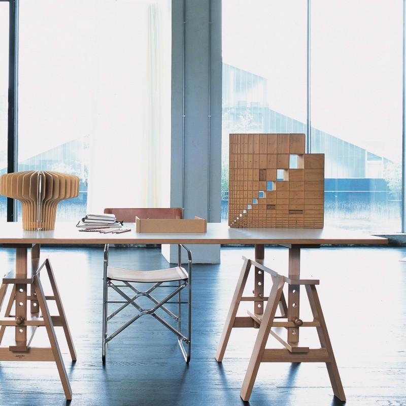 Zanotta leonardo arbeitstisch ambientedirect for Arbeitstisch design