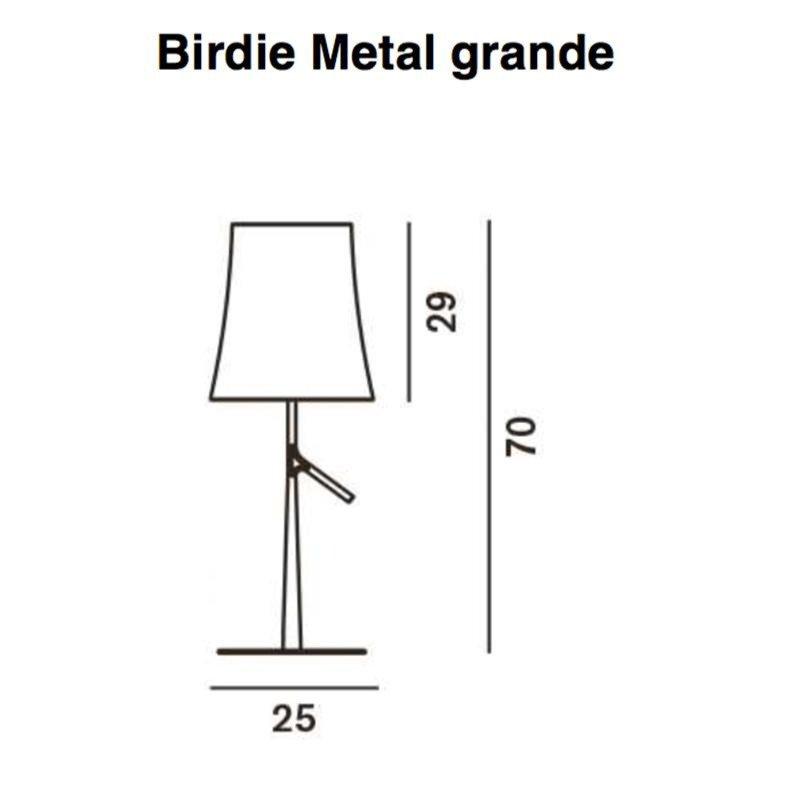 Foscarini Birdie Metal Tischleuchte | AmbienteDirect