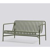 HAY - Palissade Lounge Sofa - olive/pulverbeschichtet/H x B x T: 70 x 139 x 88cm