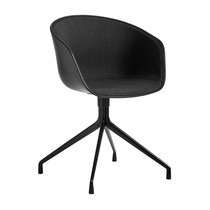 HAY - About a Chair 20 Drehstuhl gepolstert schwarz