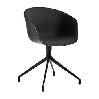 HAY - About a Chair AAC 20 Drehstuhl gepolstert Gestell schwarz