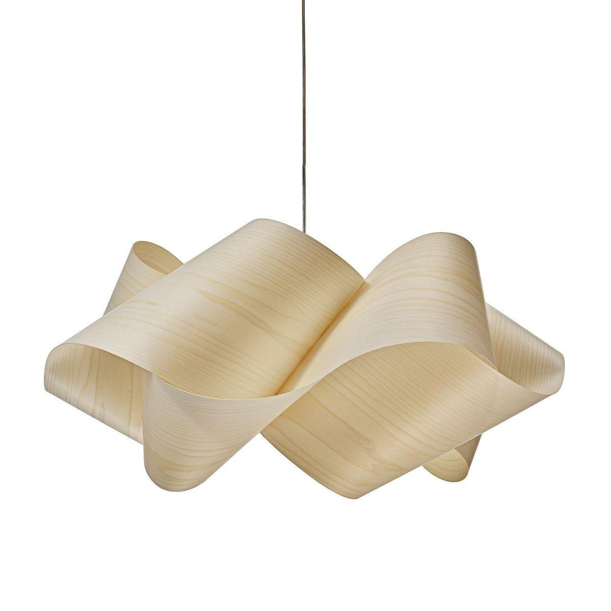 swirl sg suspension lamp  lzf lamps  ambientedirectcom - lzf lamps  swirl sg pendelleuchte  elfenbeinmattl x b x hcm