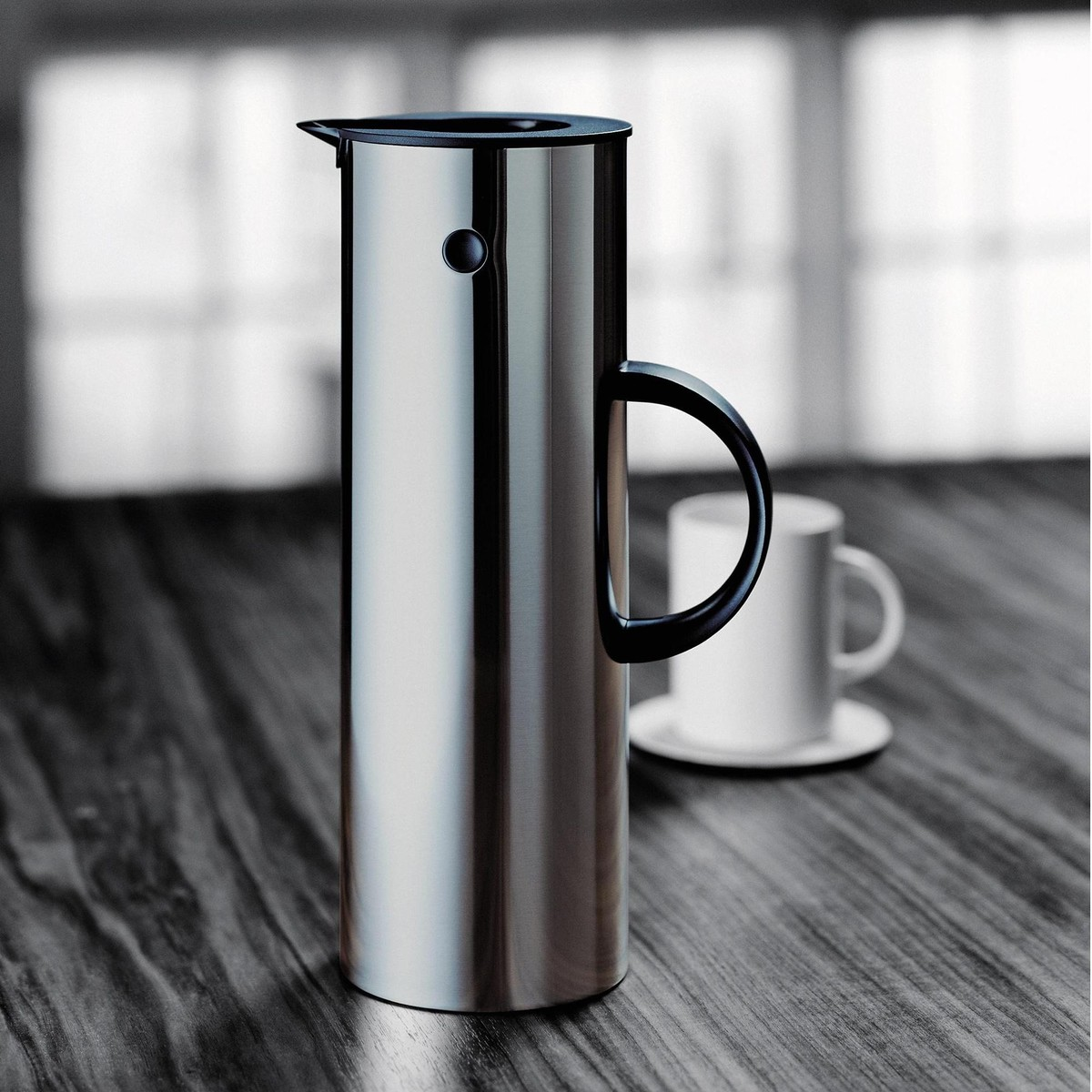 stelton em77 vacuum jug 1l stelton. Black Bedroom Furniture Sets. Home Design Ideas