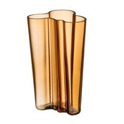 iittala - Alvar Aalto Vase 201mm - bronze desert