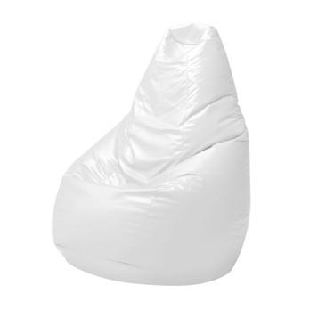 Zanotta - Sacco Bean Bag Classic - white/synthetic leather Pelle Scozia 0650/80x68x80cm