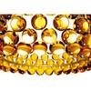 Foscarini - Caboche Soffitto Deckenleuchte - goldgelb/Methacrylat/H 19cm/ Ø 50cm