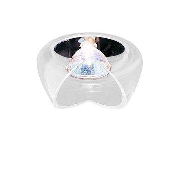deMajo - Cut F Deckenstrahler - kristallglas weiß satiniert/Nur noch wenige im Bestand!