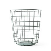 Menu - Menu Wire Bin Drahtkorb - moosgrün/Aufbewahrungskorb/Ø 32cm/ H: 35cm