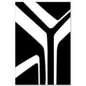 Vondom - Moonbeam Teppich  - schwarz-weiß/200x300cm