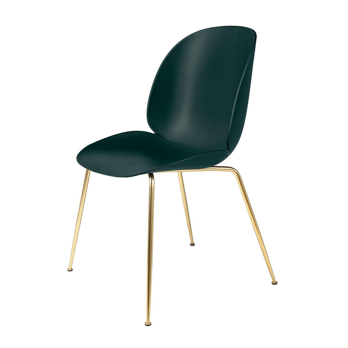 beetle dining chair brass base gubi. Black Bedroom Furniture Sets. Home Design Ideas