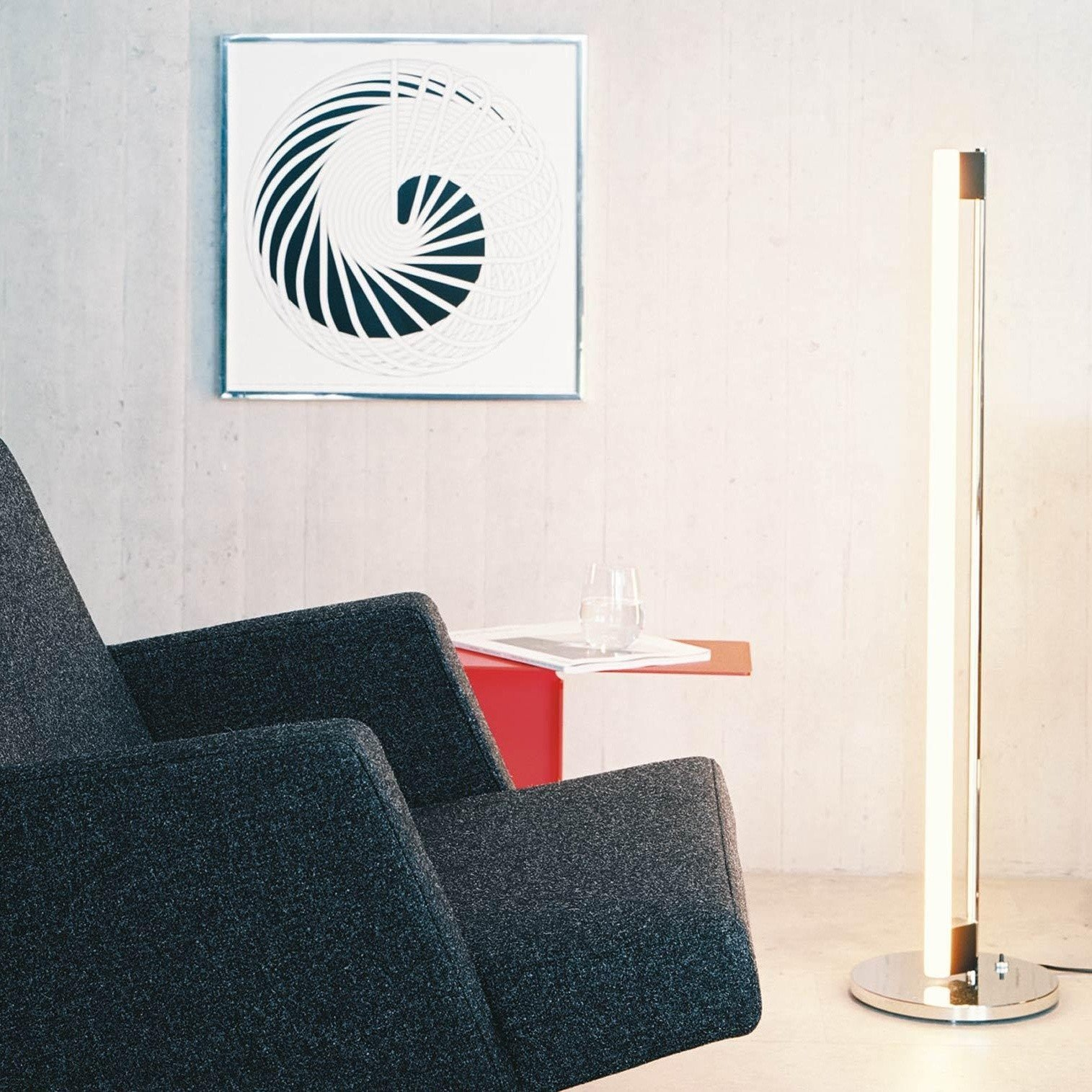Tube Light Floor Lamp | ClassiCon | AmbienteDirect.com