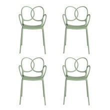 Driade - Sissi Armlehnstuhl 4er Set