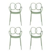 Driade - Sissi Gartenarmlehnstuhl 4er Set