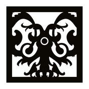 Moooi - Carpet Nr. 05 - Alfombra - negro/blanco/250x250cm