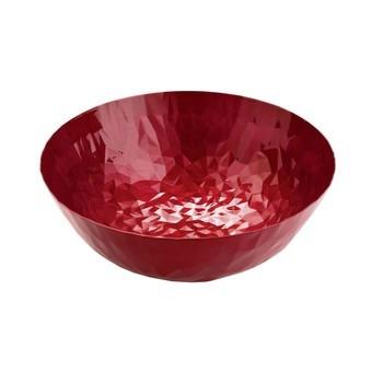 Alessi - Joy Schale  - rot/lackiert mit Emaille-eEffekt/Ø 21cm