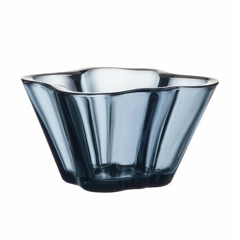 - Alvar Aalto Schale 75mm - regen/Glas