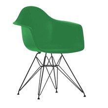 Vitra - Eames Plastic Chair DAR Gestell schwarz H43cm