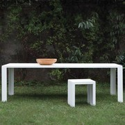 Zeus - Big Irony Outdoor - Table de jardin 200x90cm
