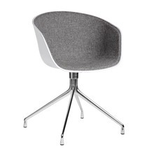 HAY - HAY About a Chair 20 Armlehndrehstuhl gepolstert