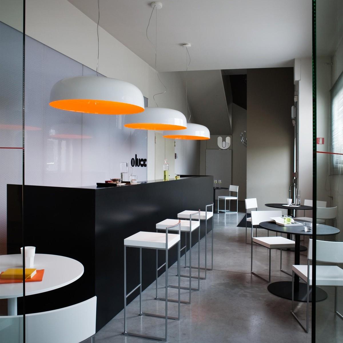 canopy 422 suspension lamp oluce. Black Bedroom Furniture Sets. Home Design Ideas
