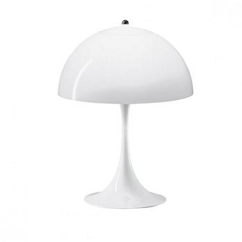 Louis Poulsen - Panthella Tischleuchte - weiß/ABS-Kunststoff