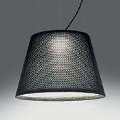 Artemide - Tolomeo Paralume LED-Pendelleuchte - basaltgrau/3000K/1865lm/H 36cm/Ø 52.2cm