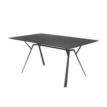 Weishäupl - Radice Quadra Outdoor Tisch - schwarz/Größe 2/200x90cm
