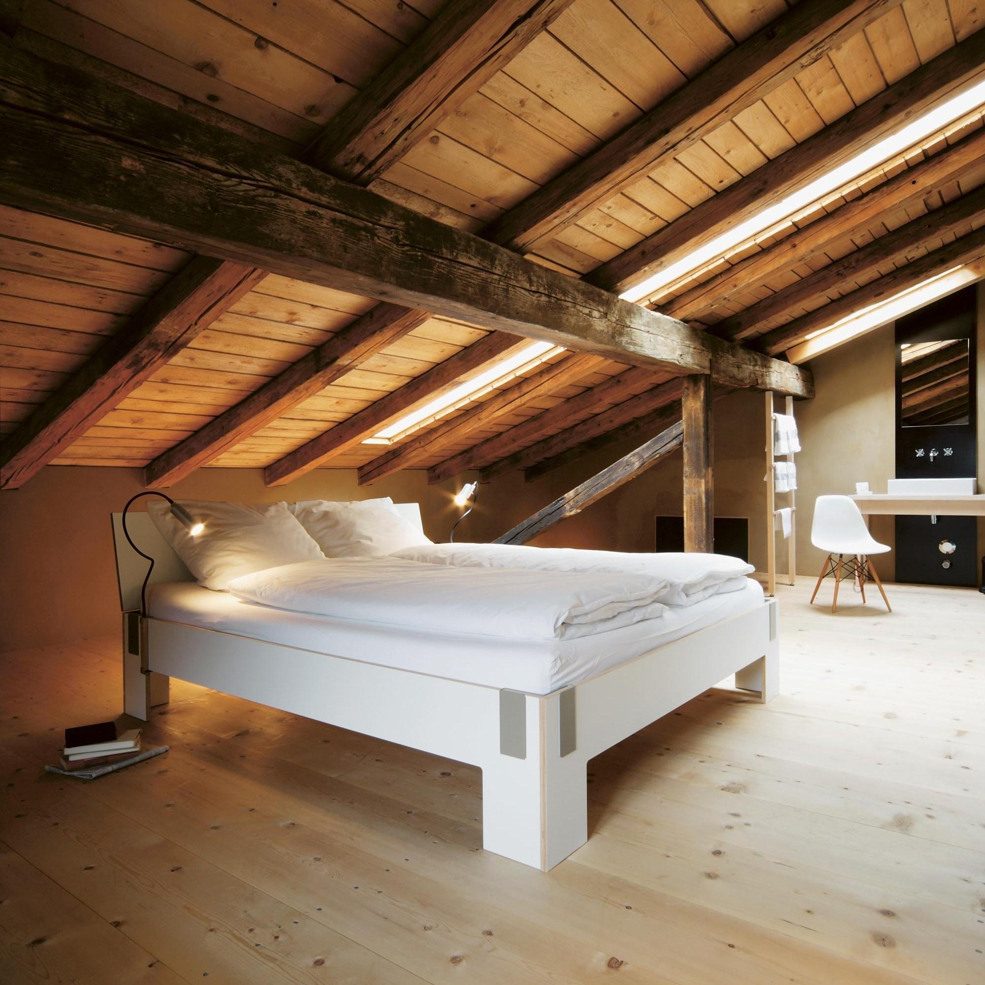 Moormann Tagedieb Bett Mit Kopfteil Ambientedirect
