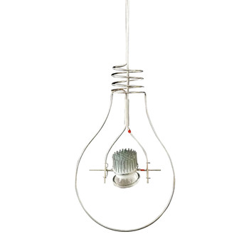 Ingo Maurer - Loop LED Pendelleuchte - edelstahl/350 lm/2700 K/CRI 90